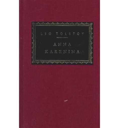 Book Review Anna Karenina by Leo Tolstoy New Fourth